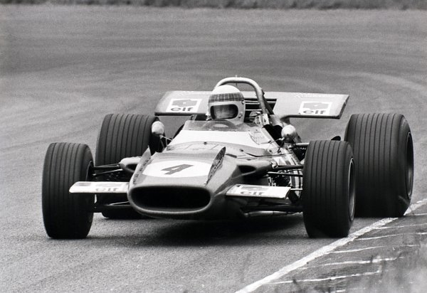 1969 Dutch Grand Prix.Zandvoort, Holland. 21 June 1969.Jackie Stewart, Matra MS80-Ford, 1st position, action.World Copyright: LAT PhotographicRef: L69/631 #25A
