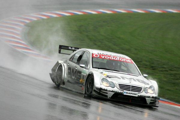 2006 DTM Championship.Round 2, Eurospeedway Lausitzring. 28th - 30th April 2006.Mika Häkkinen (FIN), AMG-Mercedes, AMG-Mercedes C-KlasseWorld Copyright: Miltenburg/xpb cc/LATref: Digital Image Only
