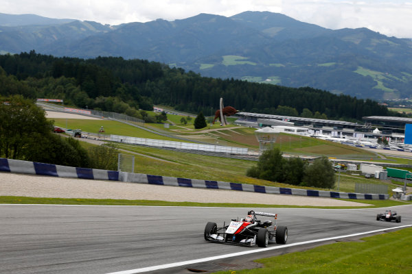 2014 FIA European F3 Championship Round 8 - Red Bull Ring, Austria. 31st July - 2nd August 2014 Max Verstappen (NED) Van Amersfoort Racing Dallara F312 ? Volkswagen World Copyright: XPB Images / LAT Photographic  ref: Digital Image 3250781_HiRes