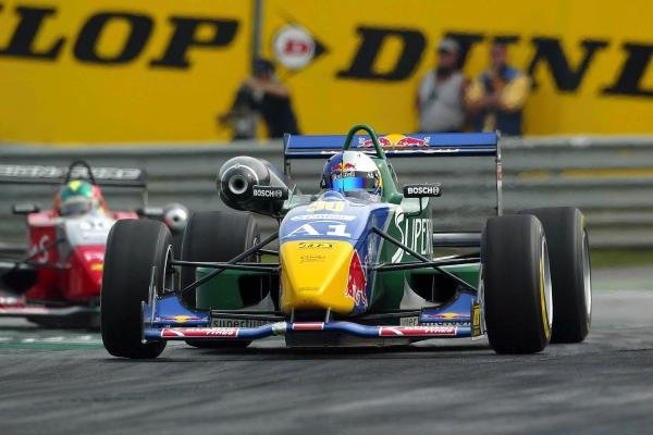 Bernhard Auinger (AUT) Superfund TME Dallara Toyota. F3 Euro Series, Rd13 & Rd14, A1-Ring, Austria, 6 September 2003.DIGITAL IMAGE