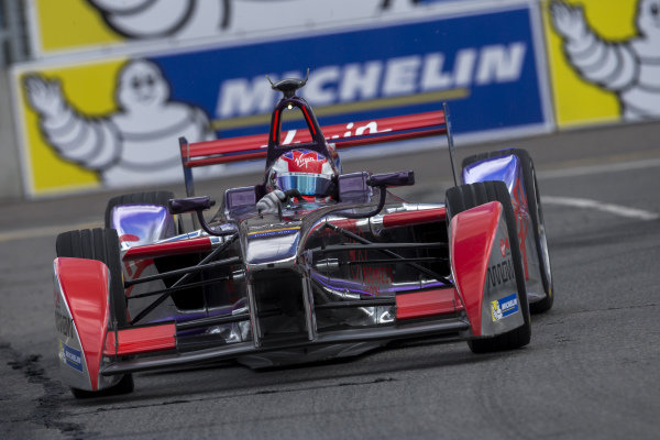 Jaime Alguersuari (ESP) - Virgin Racing at Formula E Championship, Rd9, Moscow, Russia, 4-6 June 2015.