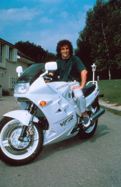 Alain Prost at home in Yens, Switzerland.