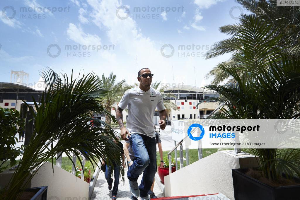 n Thursday 18th April 2013. Lewis Hamilton, Mercedes AMG.  World Copyright: Steve Etherington/c ref: Digital Image SNE16731 copy
