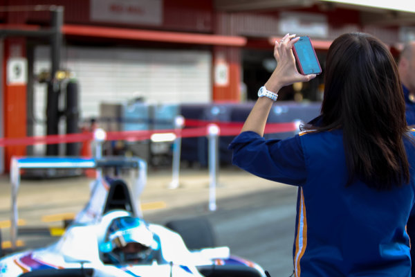 2013 GP3 Series. Round 1.  Circuit de Catalunya, Barcelona, Spain.  12th May Sunday Race 02 Emanuele Zonzini (  Portrait  World Copyright: Malcolm Griffiths/GP3 Media Service.  Ref: Digital ImageC76D5648.JPG
