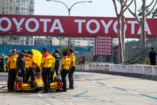 2017 Verizon IndyCar Series Toyota Grand Prix of Long Beach Streets of Long Beach, CA USA Friday 7 April 2017 Ryan Hunter-Reay World Copyright: Gavin Baker/LAT Images