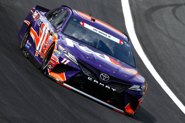 Monster Energy NASCAR Cup Series Coca-Cola 600 Charlotte Motor Speedway, Concord, NC USA Thursday 25 May 2017 Denny Hamlin, Joe Gibbs Racing, FedEx Office Toyota Camry World Copyright: Lesley Ann Miller LAT Images