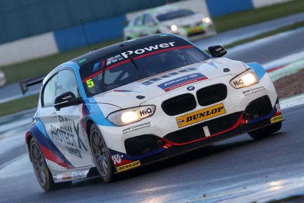 British Touring Car Championship, Donington Park, 15th-16 April 2017, Robert Collard (GBR) Team BMW BMW 125i M Sport World Copyright. JEP/LAT Images