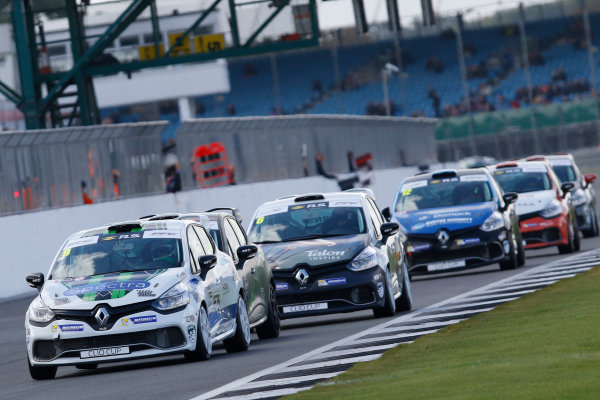 2017 Renault Clio Cup, Silverstone, Northants, UK. 16th-17th September 2017 Jade Edwards (GBR) Ciceley Motorsport Renault Clio Cup World copyright. JEP/LAT Images
