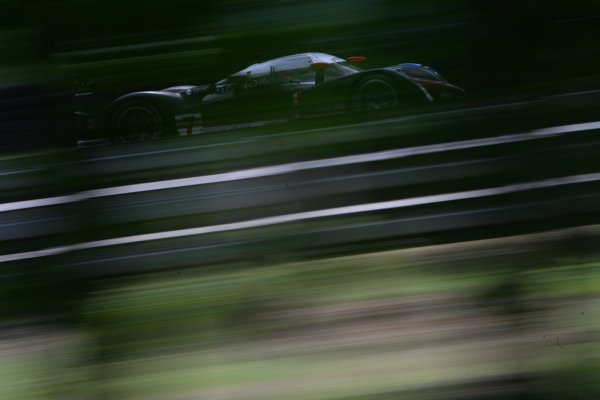 2007 Le Mans Test Day2nd and 3rd June 2007.Le Mans, France.Sunday Test DayMarc Gene (ESP)/Nicolas Minassian (GBR)/Jacques Villeneuve (CAN) (no 7 Peugeot 908 Hdi FAP) action.World Copyright: Glenn Dunbar/LAT Photographic. ref: Digital Image YY8P5681