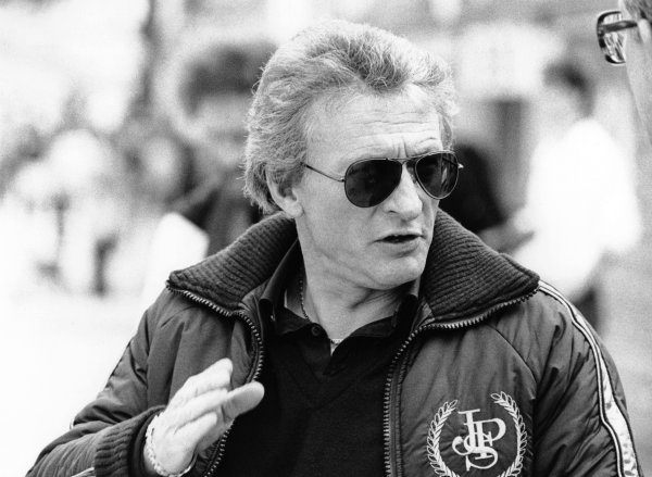 1983 Formula 1 World Championship. Gerard Ducarouge, designer JPS Team Lotus, portrait.  World Copyright: LAT Photographic.  Ref:  B/W Print.