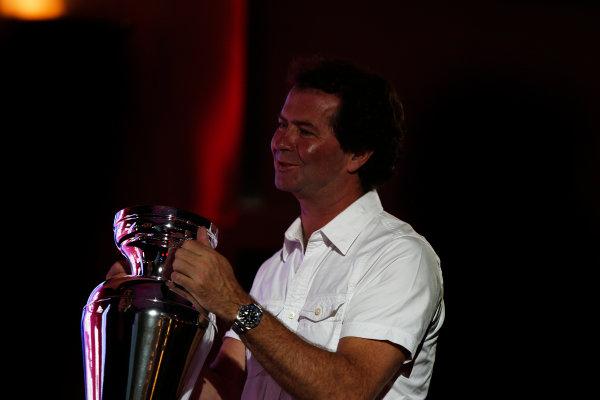 2013 GP2/3 Awards Evening. Yas Marina Circuit, Abu Dhabi, United Arab Emirates. Sunday 23 November 2014. Trevor Carlin. Photo: Zak Mauger/GP3 Series Media Service. ref: Digital Image _L0U8606