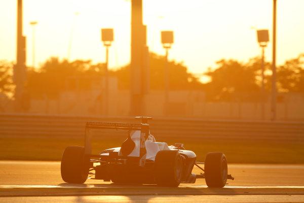 2014 GP3 Series Test 3.   Yas Marina Circuit, Abu Dhabi, United Arab Emirates. Saturday 29 November 2014. Luca Ghiotto (ITA, Trident)  Photo: Sam Bloxham/GP3 Series Media Service. ref: Digital Image _14P2964