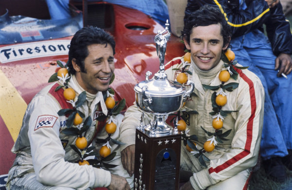 Winners Mario Andretti and Jacky Ickx.