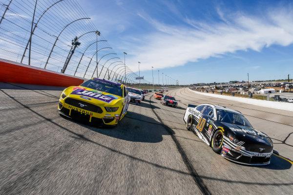 #10: Aric Almirola, Stewart-Haas Racing, Ford Mustang Smithfield, #17: Ricky Stenhouse Jr., Roush Fenway Racing, Ford Mustang Little Hug