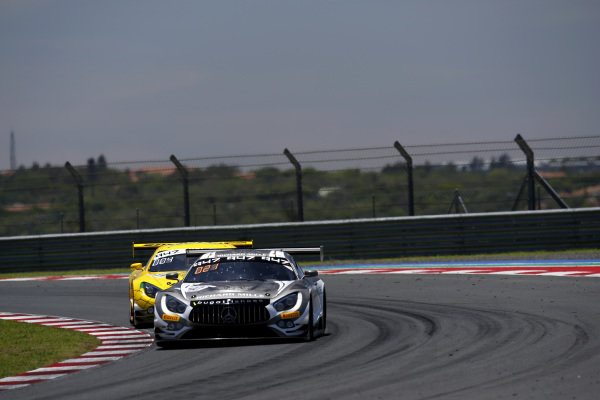 #40 SPS Automotive Performance Mercedes-AMG GT3: Valentin Pierburg, Tim Torsten Müller, Miguel Ramos.