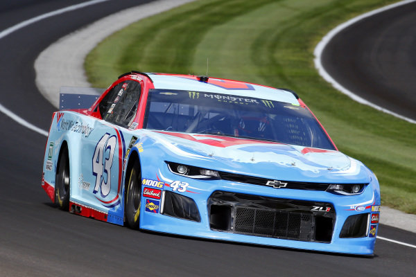 #43: Darrell Wallace Jr., Richard Petty Motorsports, Chevrolet Camaro World Wide Technology