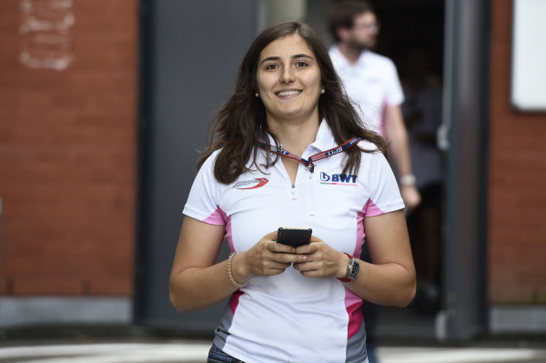 SPA-FRANCORCHAMPS, BELGIUM - AUGUST 29: Tatiana Calderon (COL, BWT ARDEN) during the Spa-Francorchamps at Spa-Francorchamps on August 29, 2019 in Spa-Francorchamps, Belgium. (Photo by LAT Images / FIA F2 Championship)