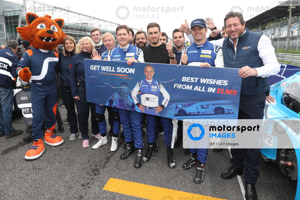 The ELMS and Algarve Pro teams sending best wishes to Mark Patterson