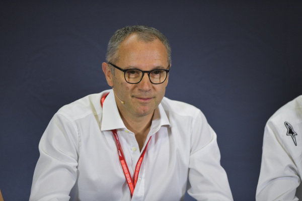 Stefano Domenicali in Press Conference for new F2 tyres