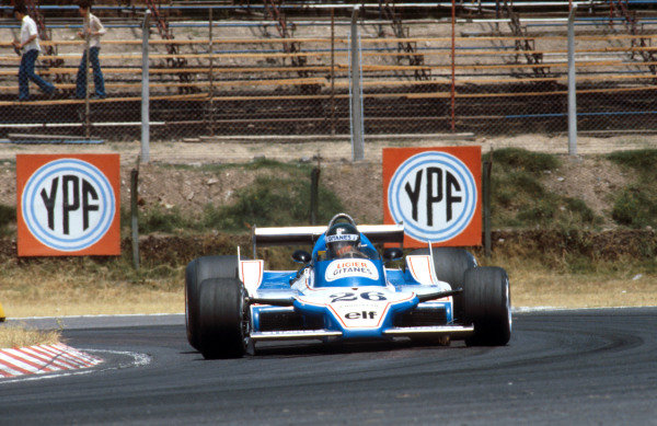 1979 Argentinian Grand Prix.Buenos Aires, Argentina.19-21 January 1979.Jacques Laffite (Ligier JS11 Ford) 1st position.Ref-79 ARG 02.World Copyright - LAT Photographic