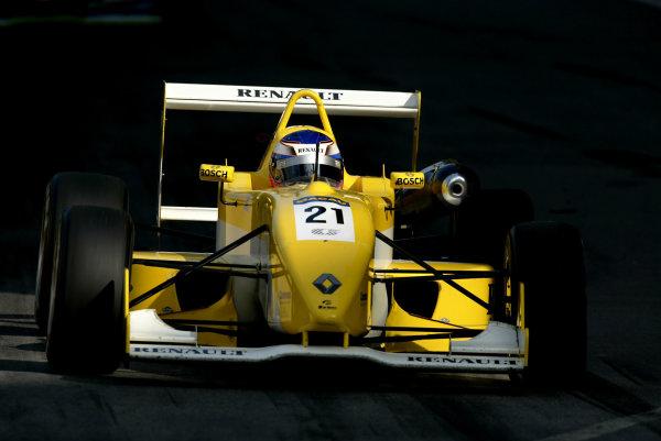 2002 Macau Grand PrixHeikki Kovalainen, Fortec Motorsport .Circuit de Guia, Macau.14-17th November 2002.World Copyright: Spinney/LAT Photographic.Ref.:11mb Digital Image Only.