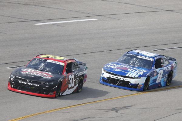 #31: Nemechek, Jordan Anderson Racing, Chevrolet Camaro Bommarito.com/Solid Rock Carriers, #8: Dale Earnhardt Jr., JR Motorsports, Chevrolet Camaro Unilever United For America
