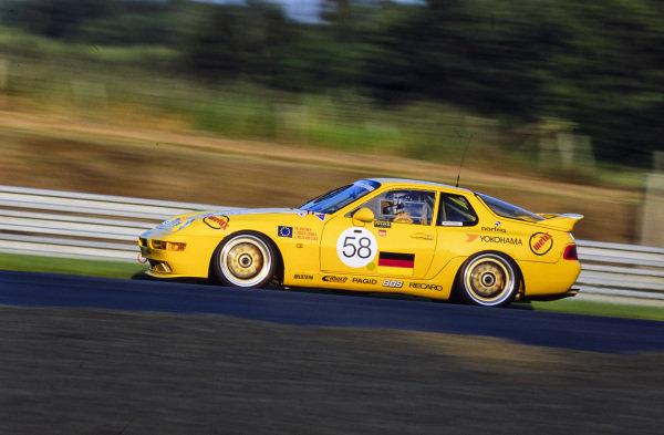Dr Thomas Bscher / Lindsay Owen-Jones / John Nielsen, Seikel Motorsport, Porsche 968 Turbo RS.