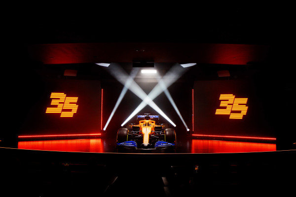 The McLaren MCL35 Renault is launched