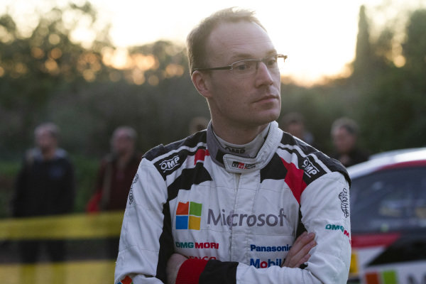 Jari-Matti Latvala, Toyota Gazoo Racing, Toyota Yaris WRC 2018, relaxed having just signed a contract extension with Toyota