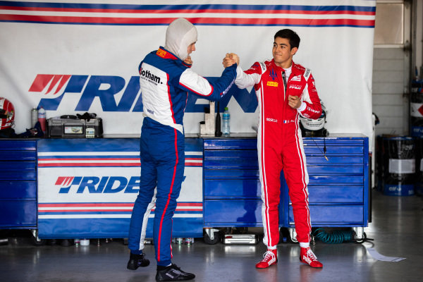 Ralph Boschung (CHE, TRIDENT) and Giuliano Alesi (FRA, TRIDENT)