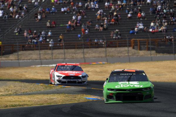 #42: Ross Chastain, Chip Ganassi Racing, Chevrolet Camaro Clover
