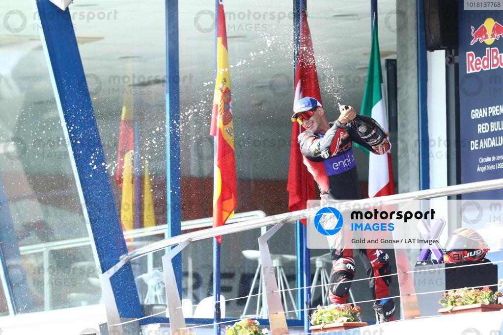 Podium: third place Mattia Casadei, Ongetta SIC58 Squadracorse.