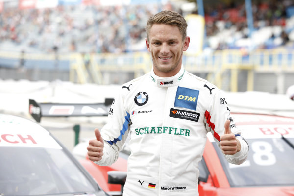 Pole sitter Marco Wittmann, BMW Team RMG.