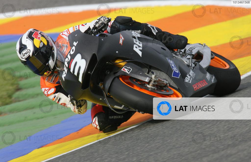 Dani Pedrosa Repsol Honda2009 MotoGP Testing.