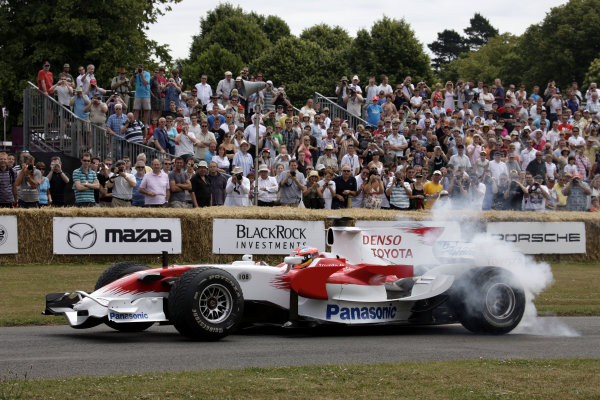 Goodwood Estate, West Sussex. 3rd - 5th July 2009. Timo Glock. World Copyright: Gary Hawkins/LAT Photographic. ref: Digital Image Only.