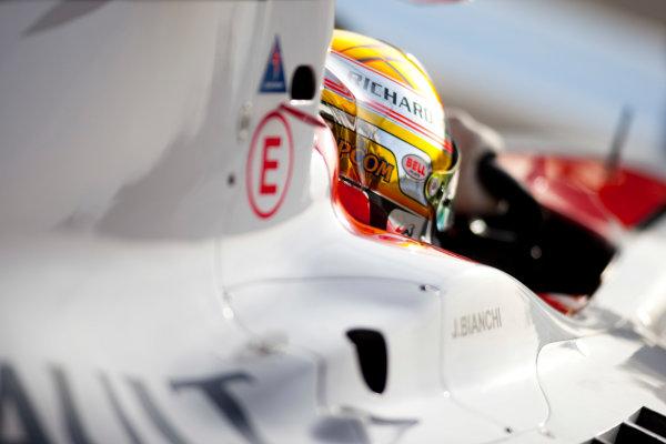 Thuesday 12th November 2009. Jules Bianchi (FRA, ART Grand Prix) . World Copyright: Alastair Staley/GP2 Series Media Service.Ref: _O9T1680 jpg