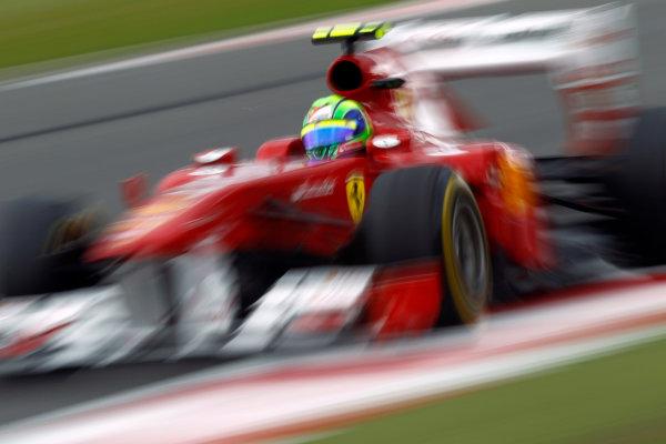 Silverstone, Northamptonshire, England9th July 2011Felipe Massa, Ferrari 150° Italia. Action. World Copyright:Andrew Ferraro/LAT Photographicref: Digital Image _Q0C8804