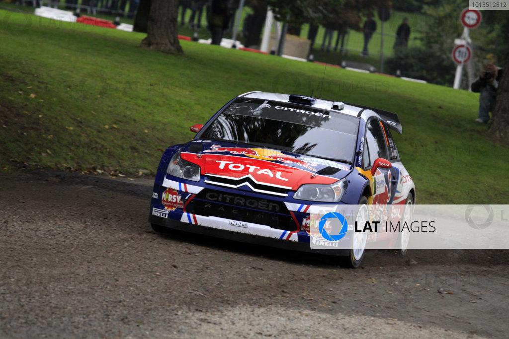 Round 11Rally de France 30/9-3/10Sebastien Ogier, Citroen WRC, Action.Worldwide Copyright: McKlein/LAT