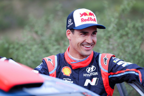 Dani Sordo is all smiles on Rally Argentina