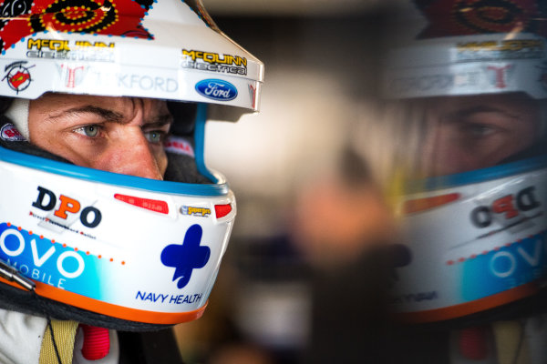 2017 Supercars Championship Round 7.  Townsville 400, Reid Park, Townsville, Queensland, Australia. Friday 7th July to Sunday 9th July 2017. Chaz Mostert driver of the #55 Supercheap Auto Racing Ford Falcon FGX. World Copyright: Daniel Kalisz/ LAT Images Ref: Digital Image 090717_VASCR7_DKIMG_5651.NEF
