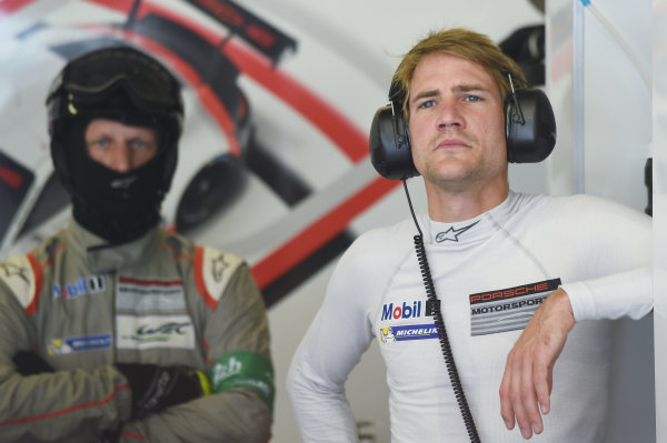 2017 Le Mans 24 Hours Circuit de la Sarthe, Le Mans, France. Wednesday 14 June 2017 Dirk Werner, Porsche Team World Copyright: Rainier Ehrhardt/LAT Images ref: Digital Image 24LM-re-5861
