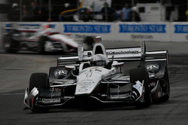 Verizon IndyCar Series Honda Indy Toronto Toronto, ON CAN Sunday 16 July 2017 Simon Pagenaud,  Team Penske Chevrolet World Copyright: Scott R LePage LAT Images ref: Digital Image lepage-170716-to-4629