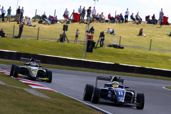 2016 BRDC F3 Championship, Snetterton, Norfolk. 6th - 7th August 2016. Ricky Collard (GBR) Carlin BRDC F3. World Copyright: Ebrey / LAT Photographic.