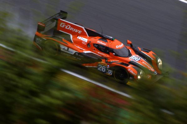 2015 FIA World Endurance Championship, Spa-Francorchamps, Belgium. 30th April - 2nd May 2015. Romain Rusinov / Julien Canal / Sam Bird G-Drive Racing Ligier JS P2 Nissan. World Copyright: Ebrey / LAT Photographic.