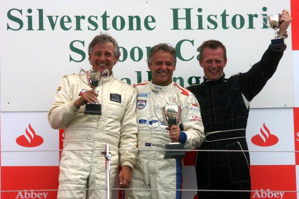 Silverstone, Northamptonshire, UK. 5th - 6th July 2008.Podium, Neil Cunningham wins.World Copyright: Ebrey/LAT Photographic