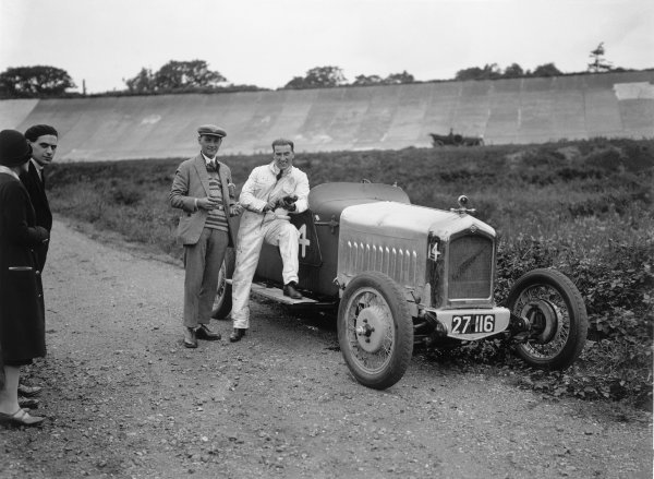 Brooklands, England. 1st August 1925.