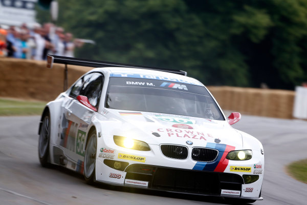 2015 Goodwood Festival of Speed Goodwood Estate, West Sussex, England. 25th - 28th June 2015. Cindy Allemann/Frazer Gibney, BMW M3 GT2 Le Mans. World Copyright: Alastair Staley/LAT Photographic ref: Digital Image_R6T8441