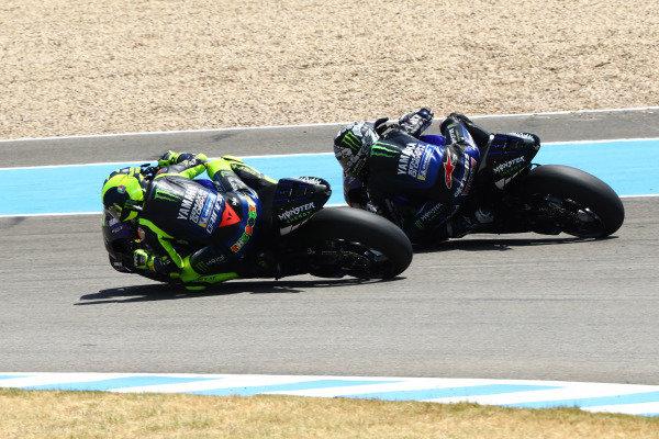 Valentino Rossi, Yamaha Factory Racing, Maverick Vinales, Yamaha Factory Racing.