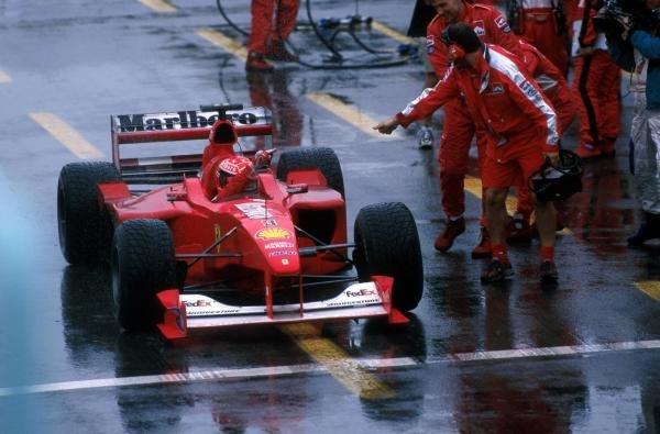 Winner Michael Schumacher(GER) Ferrari F1 2000 Canadian GP, Montreal, 18 June 2000
