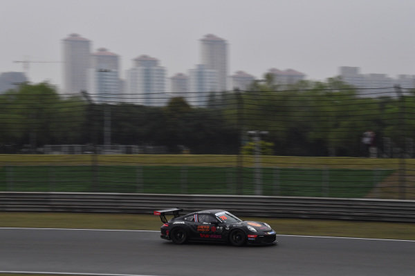Suttiluck Buncharoen (THA) True Visions Motorsports Thailand at Porsche Carrera Cup Asia, Shanghai, China, 13-15 April 2018.